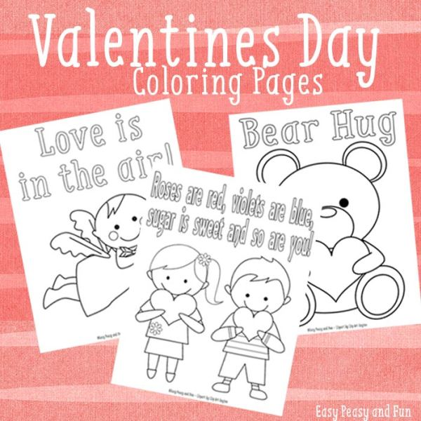 coloring pages for valentines day printable # 61