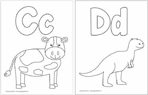 coloring pages letters # 8