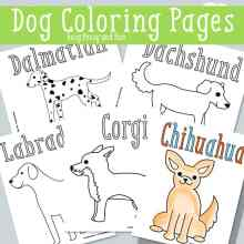 Puppy Printable Dog Coloring Pages