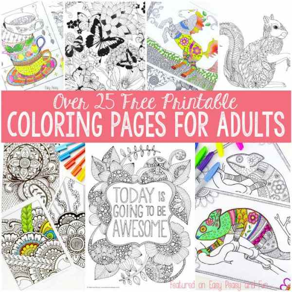 free coloring pages for adults printable # 47