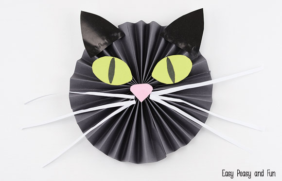 Black Cat Paper Craft Easy Peasy And Fun