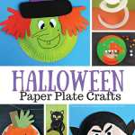 Halloween Paper Plate Crafts For Kids Easy Peasy And Fun