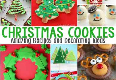 Frosted Christmas Wreath Cookies Recipes