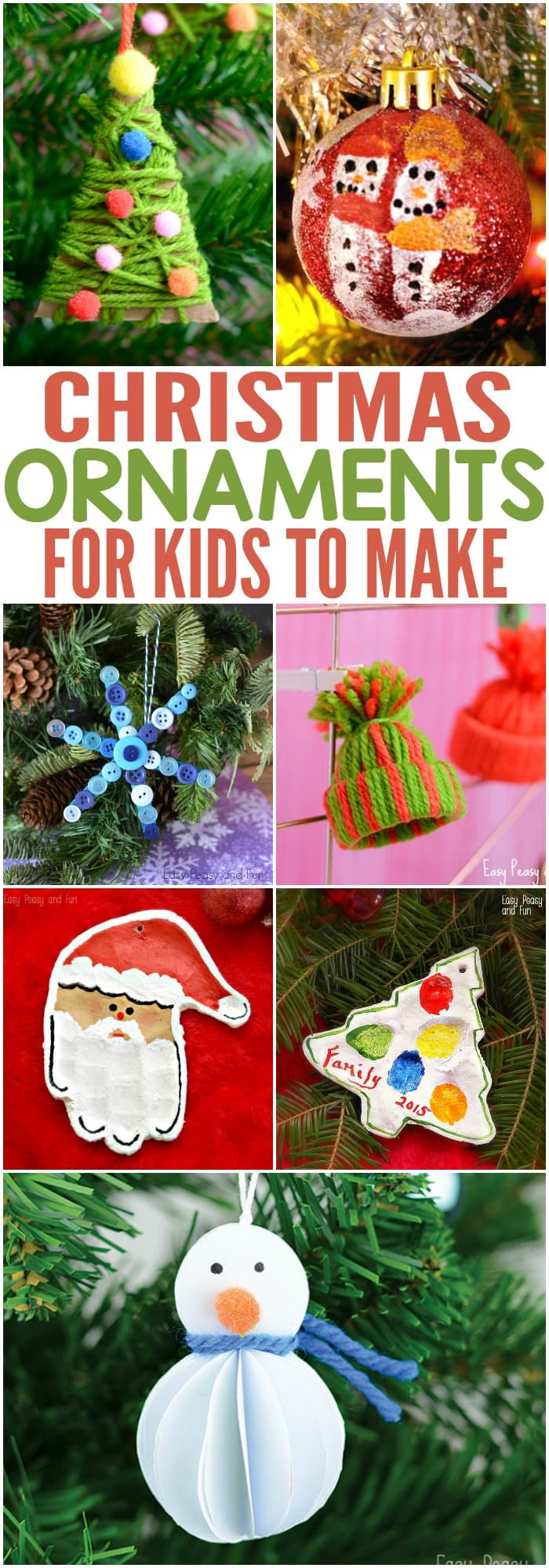 Easy Christmas Ornaments Kids