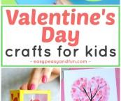 valentine's day kid crafts ideas
