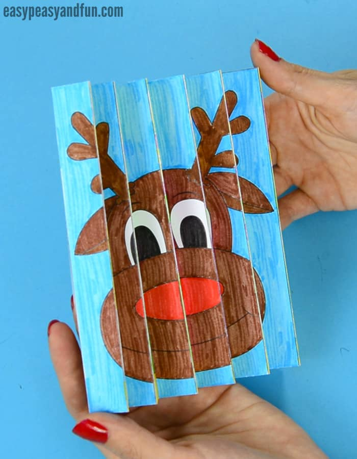Christmas Agamograph Template Easy Peasy And Fun