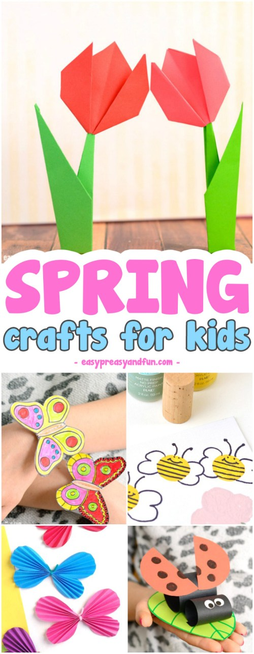 small resolution of Spring Crafts for Kids - Art and Craft Project Ideas for All Ages - Easy  Peasy and Fun