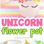 Unicorn Planter Magical Diy Succulent Plant Pot Idea Easy Peasy And Fun