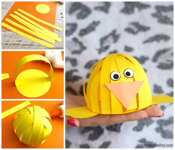 simple easter construction paper
