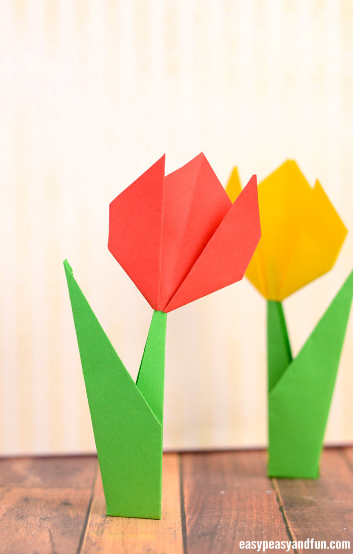 origami flower diagram in english robertshaw thermostat wiring how to make flowers tulip tutorial with