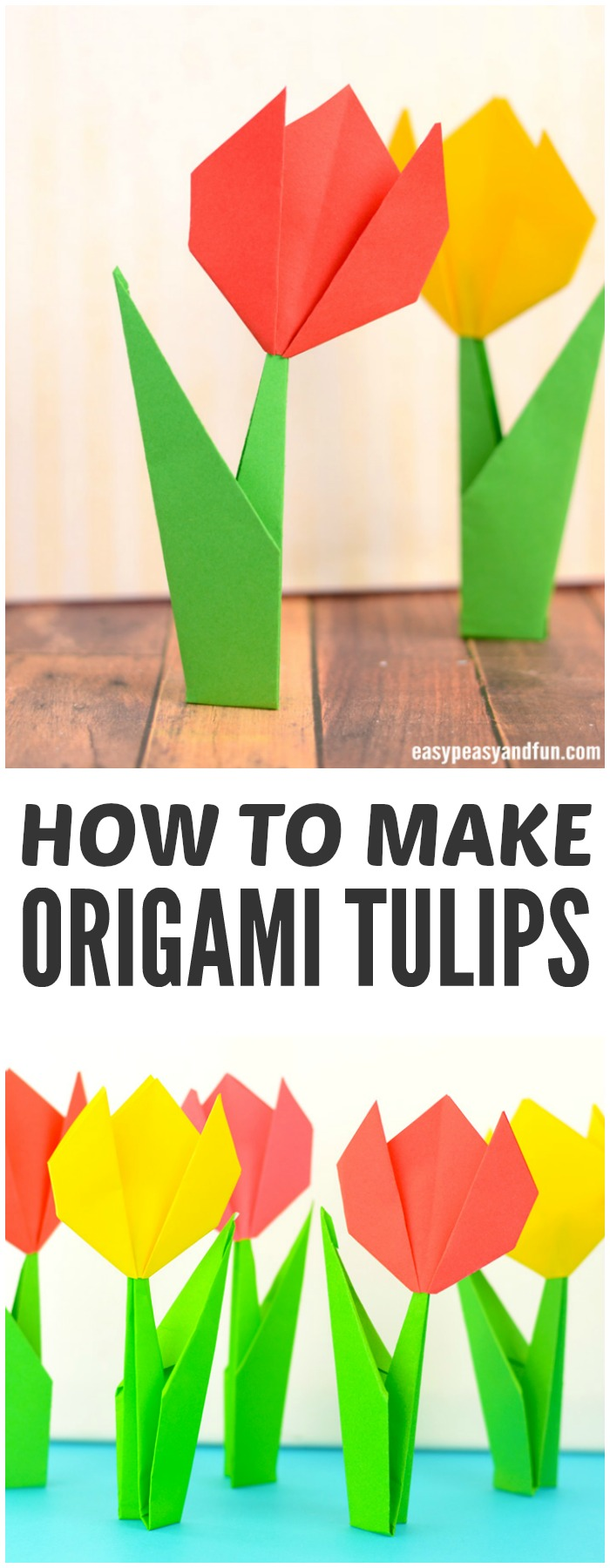 medium resolution of how to make origami flowers step by step origami tulips tutorial