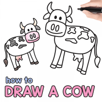 how to draw step