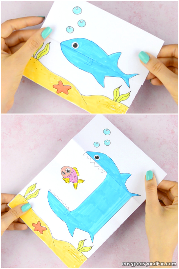 25 Shark Crafts And Activities For Kids Shark Week Easy Peasy And Fun