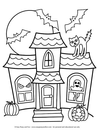coloring pages halloween # 6