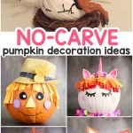 Amazing Pumpkin Painting Ideas Other No Carve Pumpkin