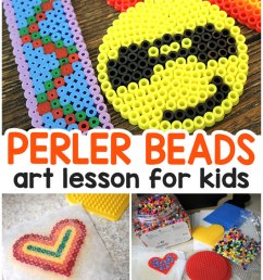 easy perler beads for kids art class [ 680 x 1200 Pixel ]