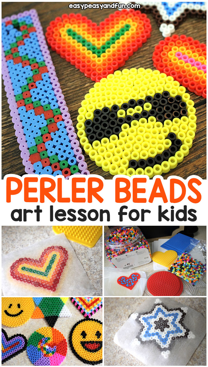 medium resolution of easy perler beads for kids art class