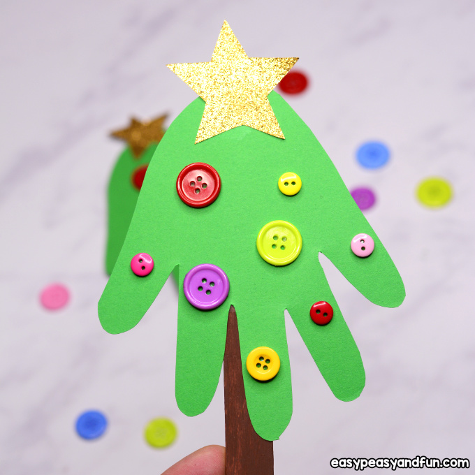 How To Make A Handprint Christmas Ornament