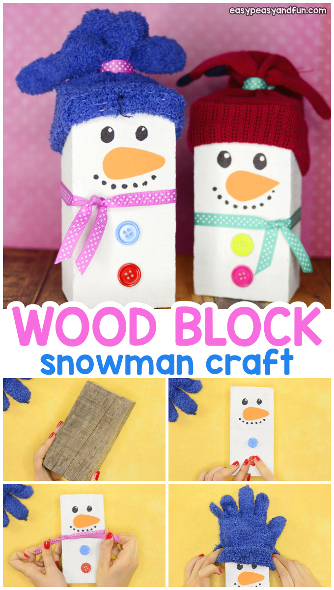 Snowman Christmas Crafts To Make