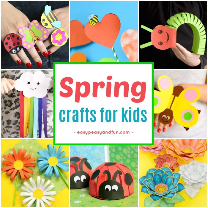 Spring Crafts For Kids Art And Craft Project Ideas For All Ages Easy Peasy And Fun