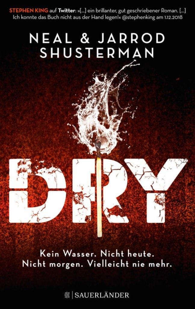 Roman Dystopie Buch Dry von Neal Shusterman