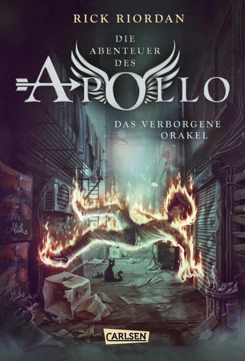 Jugendbuch Fantasy Buch Die Abenteuer des Apollo: Das verborgene Orakel von Rick Riordan