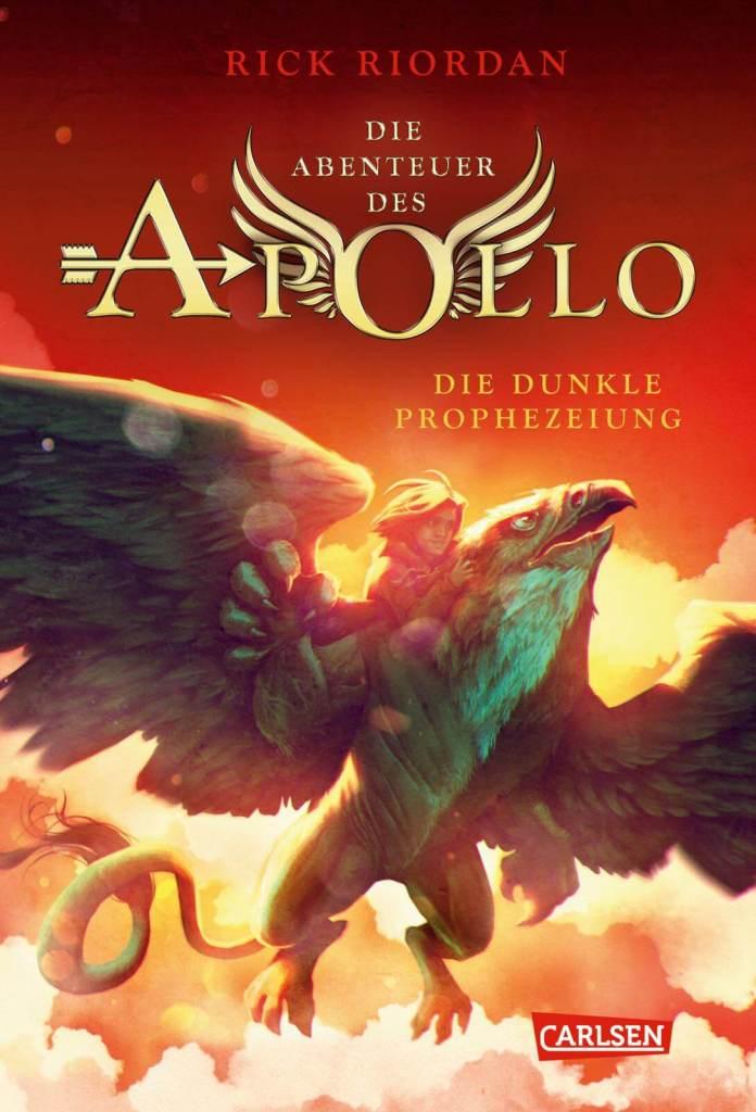 Jugendbuch Fantasy Buch Die Abenteuer des Apollo: die dunkle Prophezeiung von Rick Riordan