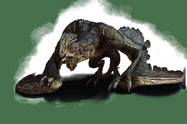 Basilisk aus Witcher 3 Wild Hunt Bestiarium