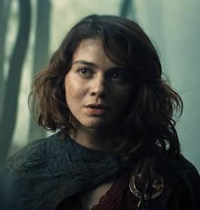 Renfri aus der Serie The Witcher auf Netflix