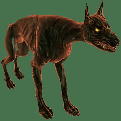 Höllenhund aus Witcher 3 Wild Hunt Bestiarium
