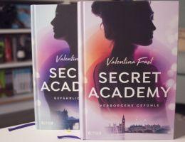 Rezension Secret Academy von Valentina Fast