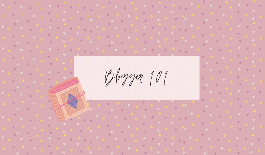 Blogger 101 Header