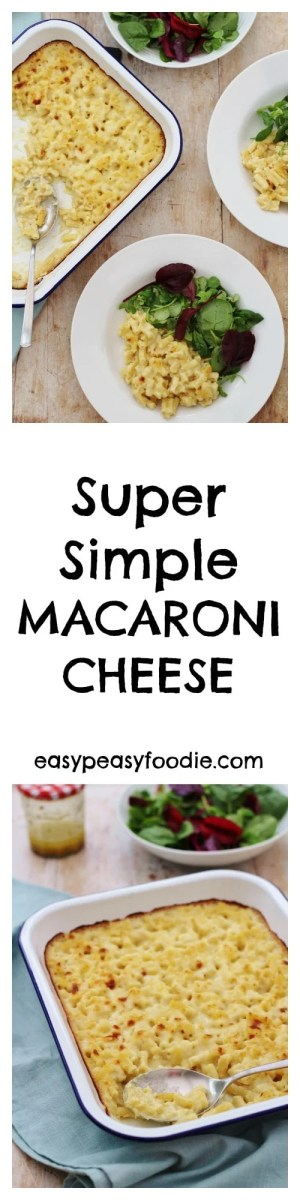 Crisp on top, oozing with sauce and with perfectly cooked pasta, my Super Simple Macaroni Cheese is totally delicious and so simple to make - perfect for those busy days when you just want something easy!