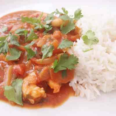 Simple Prawn Curry