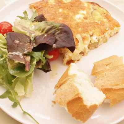 Spanish Omelette (no flipping required)
