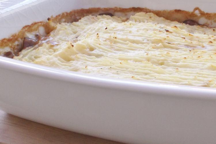 Leftover Roast Lamb Shepherd's Pie