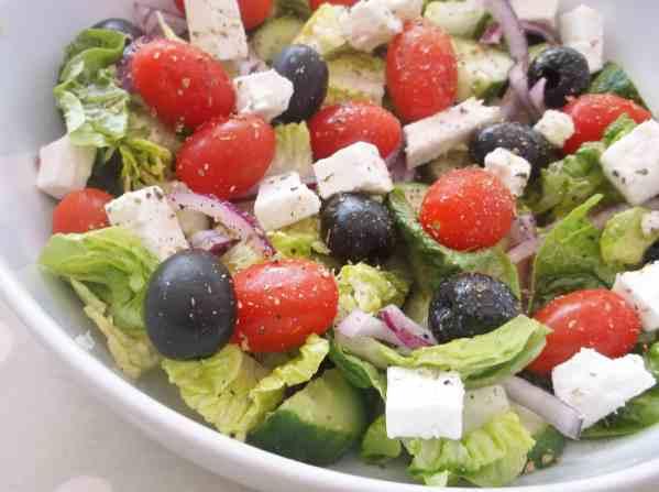 Greek Salad 4