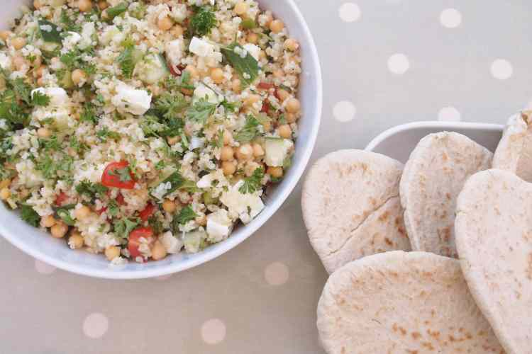Chickpea, Feta and Herb Salad