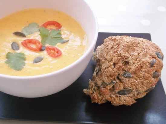 Pumpkin Seed and Rye Bread 5