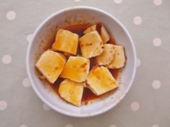 Warm Butternut Squash, Harissa and Halloumi Salad 7