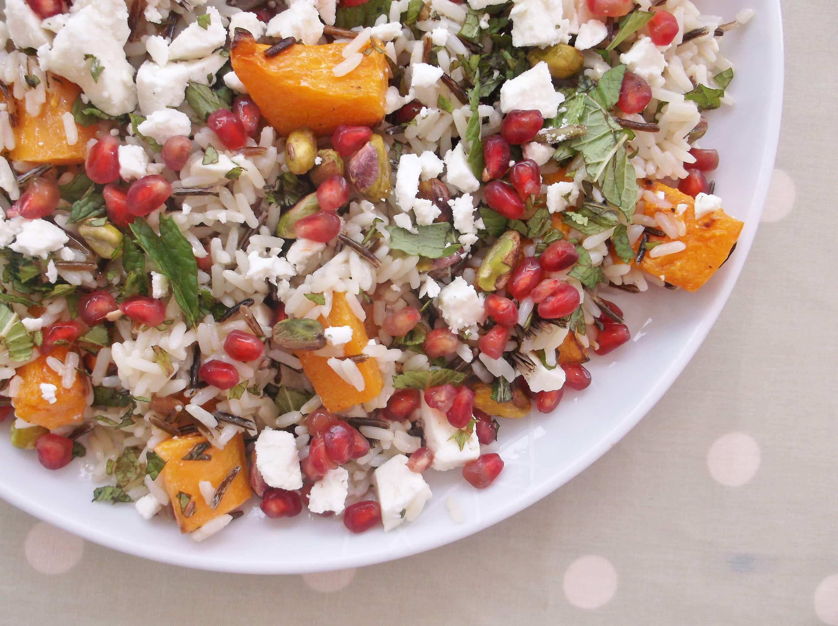 warm christmas rice salad 7 - Christmas Rice