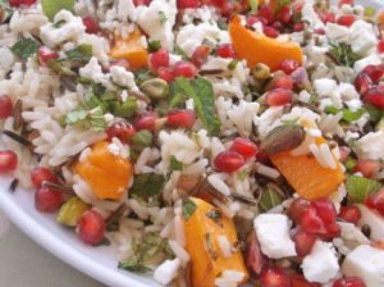 Warm Christmas Rice Salad 8