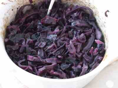 Braised Red Cabbage 2