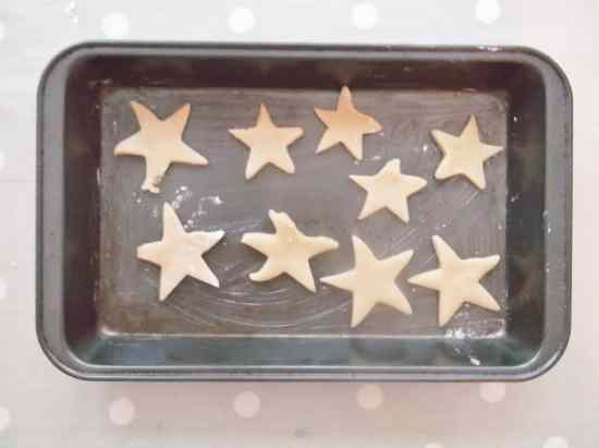 Easy Peasy Christmas Star Biscuits 9