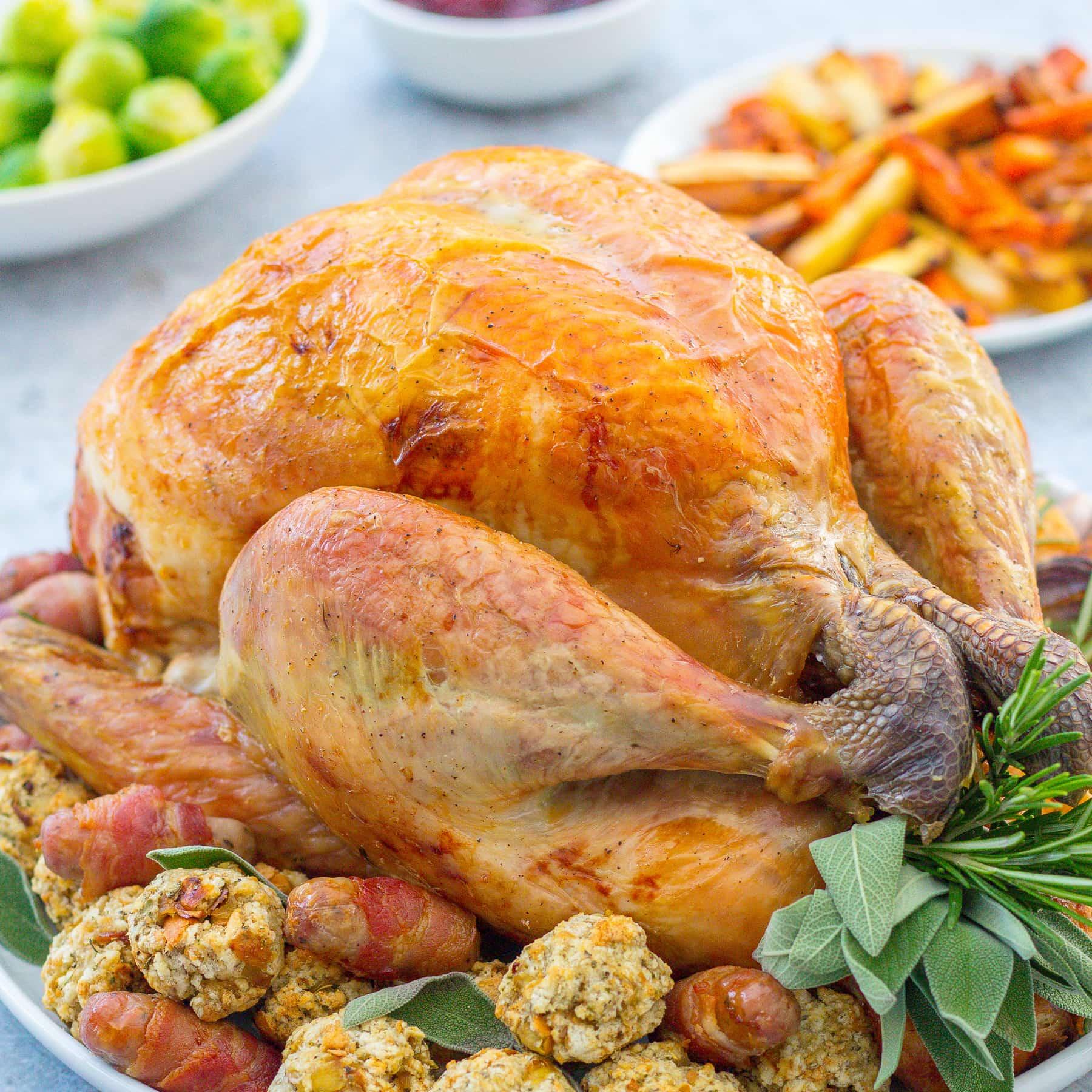 Christmas Turkey.Easy Peasy Christmas Turkey