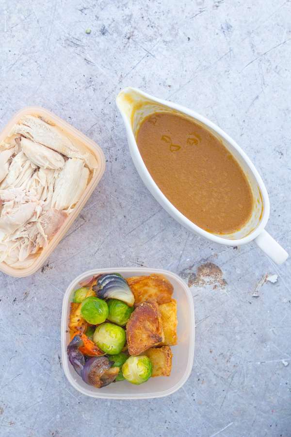 What to do with leftover turkey and veg?
