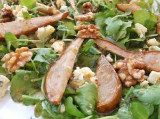 Pear and Walnut Salad 1