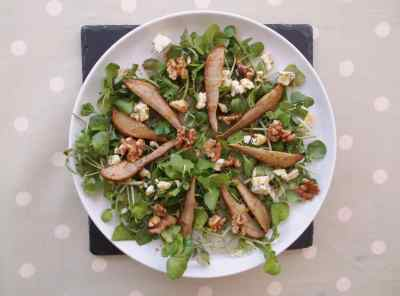 Pear and Walnut Salad 2