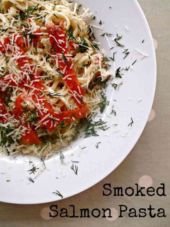 It's not just turkey that we can end up having kicking about at this time of year. There are all kinds of leftovers and bits and bobs lurking in our fridges. This is a wonderfully simple, yet slightly decadent pasta dish to make with any cream and smoked salmon that might be leftover after Christmas.