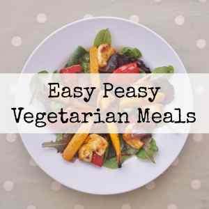 Easy Peasy Vegetarian Meals